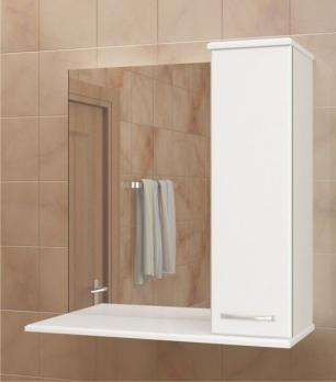 Зеркало-шкаф МДВ Уют 760 левое/правое