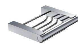 мыльница металлическая навесная Frap G 1602-1