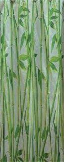 Шторка DEPO (зеленые стебли бамбука) 180*180 см.