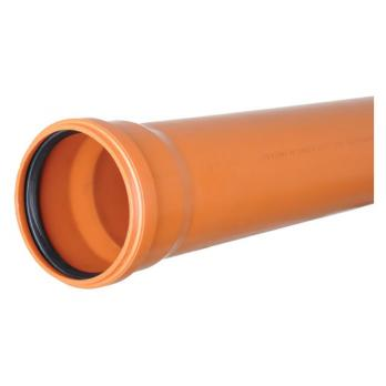 Труба ПВХ наружная 110*1.0 м.