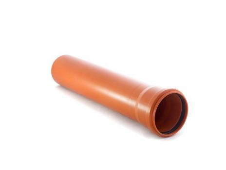 Труба ПВХ наружная 110*2.0 м.