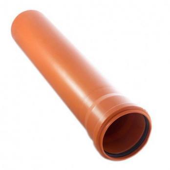 Труба ПВХ наружная 160*1.0 м.