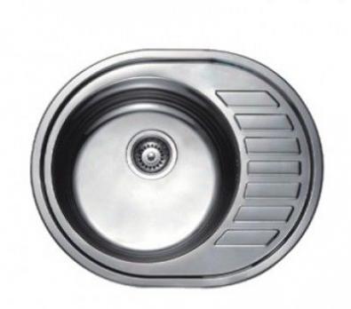 F4557 Мойка круглая глянцевая