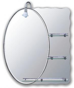 F609 Зеркало с 3-мя полками