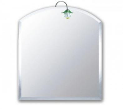 F615 Зеркало сверху полукруглое