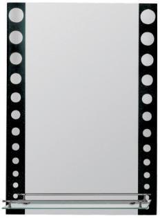 F619 Зеркало черный горох