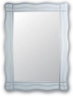 F622 Зеркало с волнообр. краями