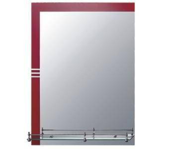 F639-43 Зеркало прямое с красным углом