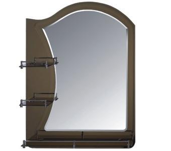 F681 Зеркало с 3-мя полками