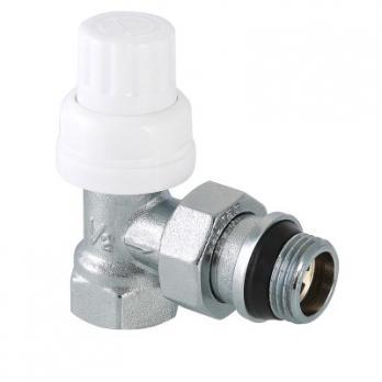 Клапан термостатический угловой с дополнительным уплотнением