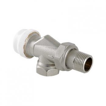 Клапан термостатический угловой с осевым управлением