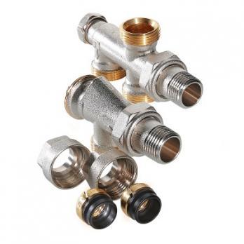 Регулирующий узел для подключения радиатора (комплект)