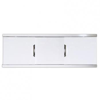 Экран под ванну 1,5 МДФ-Купе Still ART белый, ручки хром CALLAO