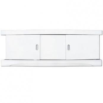 Экран под ванну 1,7 МДФ купе белый