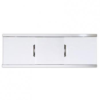 Экран под ванну 1,7 МДФ-Купе Still ART белый, ручки хром CALLAO