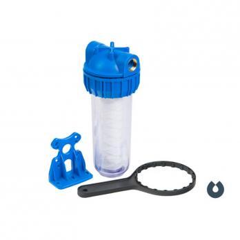Магистральный фильтр с нитяным полипропиленовым картриджем (10мкр) CB-10FY 1/2-inch