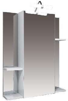 """Зеркальный шкаф """"Диана-70"""" с подсветкой"""